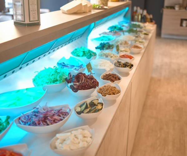 Thermen Soesterberg mit einem schönen Cool-Spot im Restaurant.
