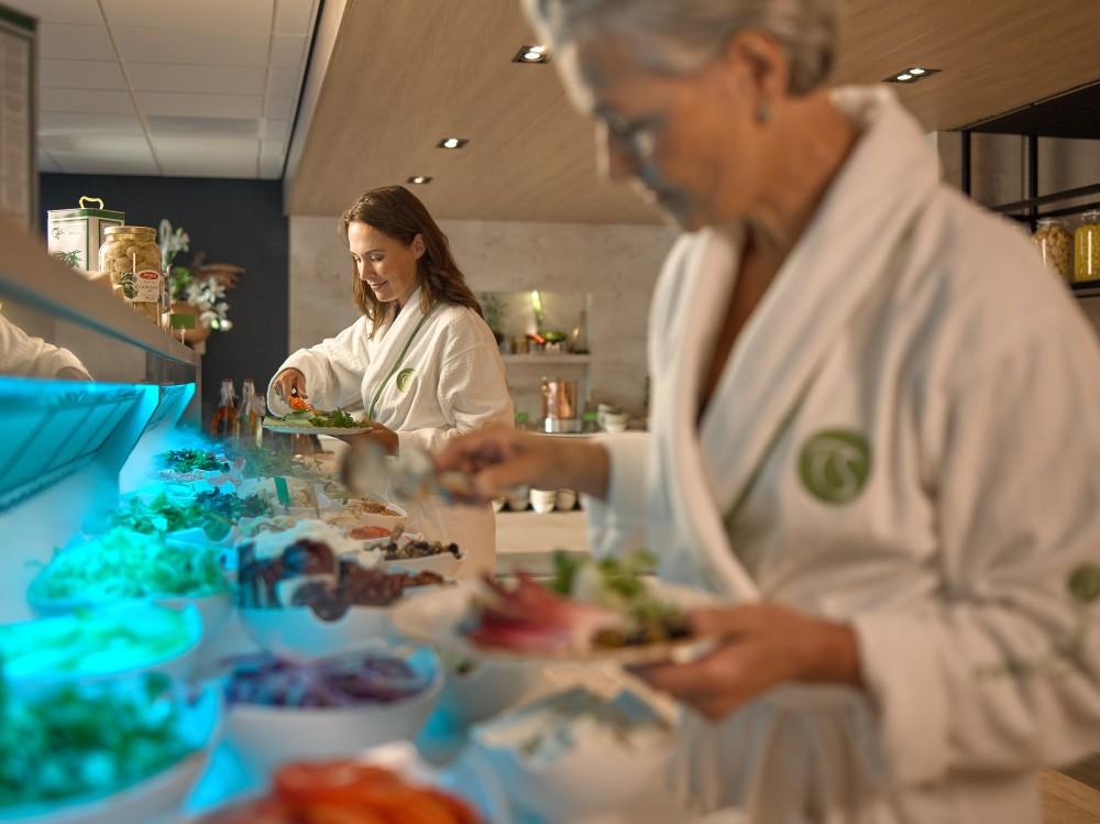 Thermen Soesterberg avec une belle Cool-Spot dans le restaurant.