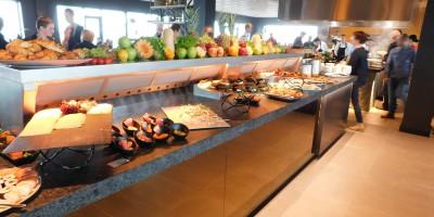 Cool-Spot Buffet Îlot, sortie unilatérale en T