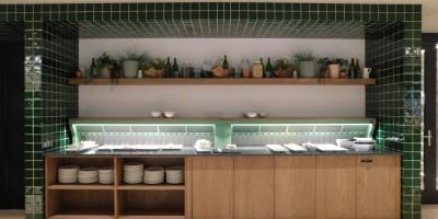 Cool-Spot Wandbuffet Düsen einseitig