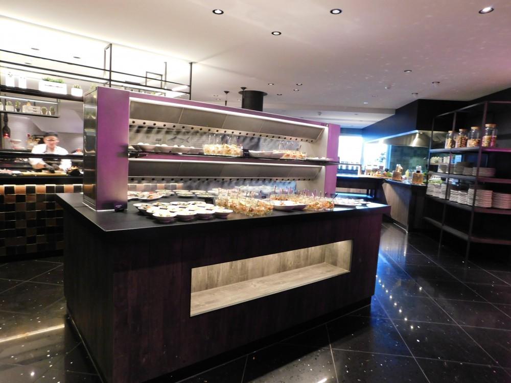 Cool-Spot Eiland buffet  met 2 etages, dubbele uitblaas