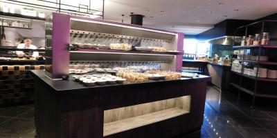 Cool-Spot Buffet Îlot à 2 étages, sortie double